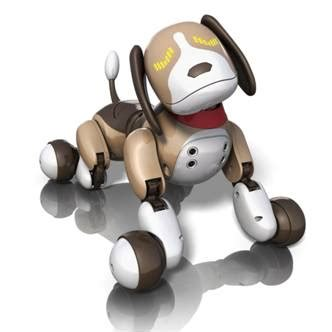 robot puppy zoomer zoomer interactive robotic bentley features robotic toys