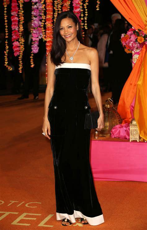 Catwalk To Carpet Thandie Newton by Thandie Newton Shares Snap Of Carpet Preparation Ahead