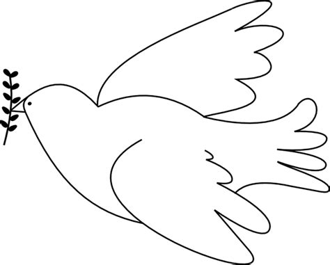 dove template 6 best images of dove template printable dove outline