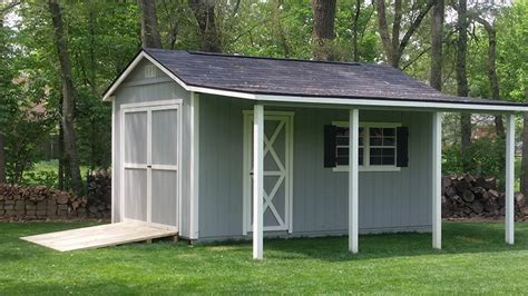 Garden Shed With Awning by Sheds Gallery 183 Recreation Unlimited