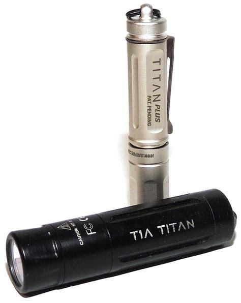 surefire flashlight review surefire titan plus ultra compact variable output led