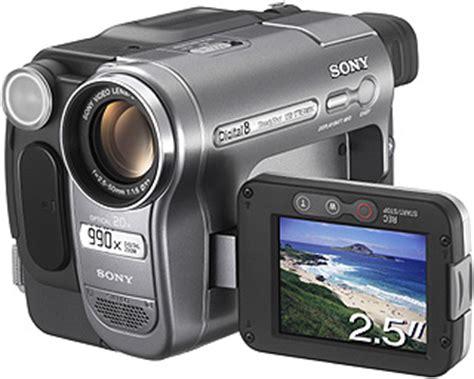 Kamera Canon Handycam kamery sony kamera digital 8 sony dcr trv480e