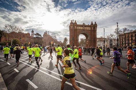 barcelona half marathon la edreams mitja marat 243 de barcelona 2016