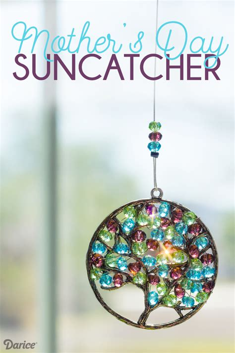 Small Space Home Decor Ideas by Diy Mother S Day Beaded Suncatcher Tutorial Darice