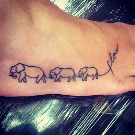 family elephant tattoo 44 best elephant family designs images on