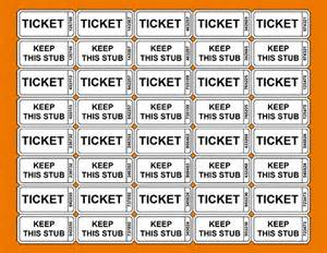 Template For Raffle Tickets With Numbers by 3 Printable Raffle Ticket Template Teknoswitch