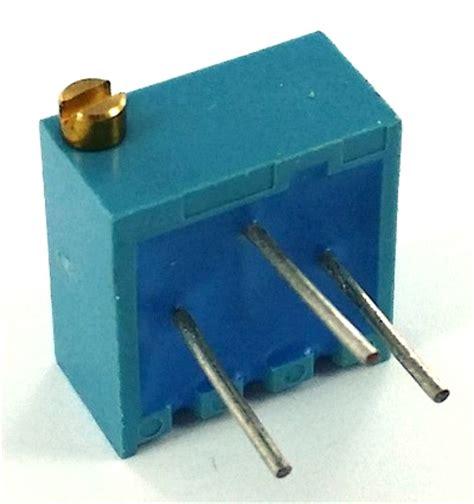 murata resistors 100 ohm trimpot variable resistor murata pot3106p 1 101 west florida components