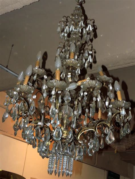 glass bead chandelier two tier glass bead chandelier