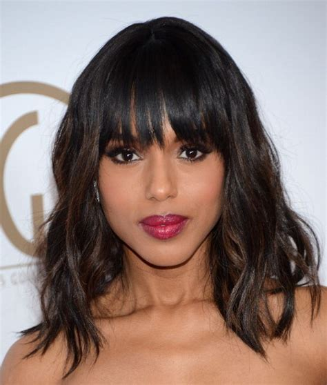 oblong face shape and bangs how to choose perfect bangs for your face shape