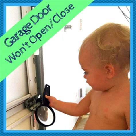 Diagnosing Your Garage Door Css Garage Doors Garage Door Wont Open