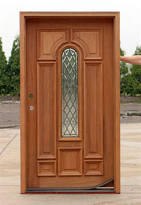 Wide Exterior Doors Wide Entry Door With Door Lite