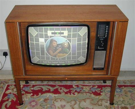 when were colored tvs invented color television television set and television on