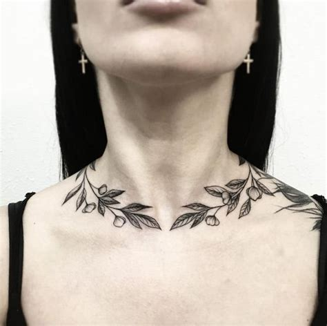 girly neck tattoos 99 girly tattoos to consider for 2017 neck wrap