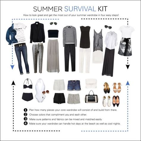 Summer Vacation Capsule Wardrobe by Endless Summer