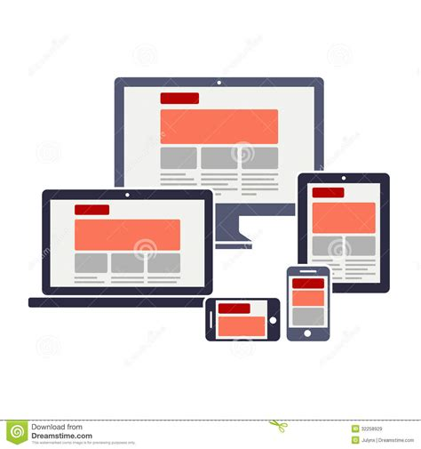 layout stock free responsive web design royalty free stock images image