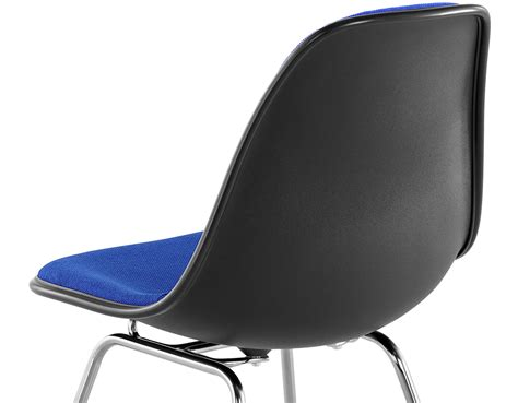 Eames L by Eames 174 Upholstered Side Chair With 4 Leg Base Hivemodern
