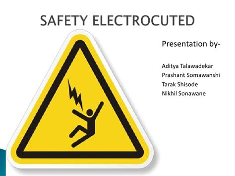 Electrical Safety 1 electrical safety in places