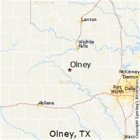 olney texas map best places to live in olney texas