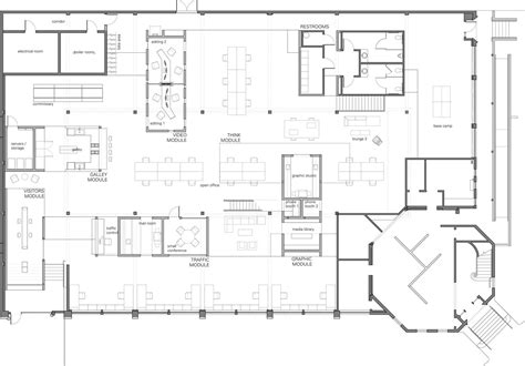 architectural building plans skylab architecture office floor plan office