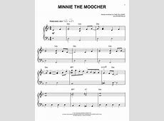 Minnie The Moocher sheet music by Cab Calloway (Easy Piano ... Minnie The Moocher Chords