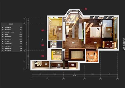 13 awesome 3d house plan ideas that give a stylish new 40 awesome 3d apartment house plans decor units