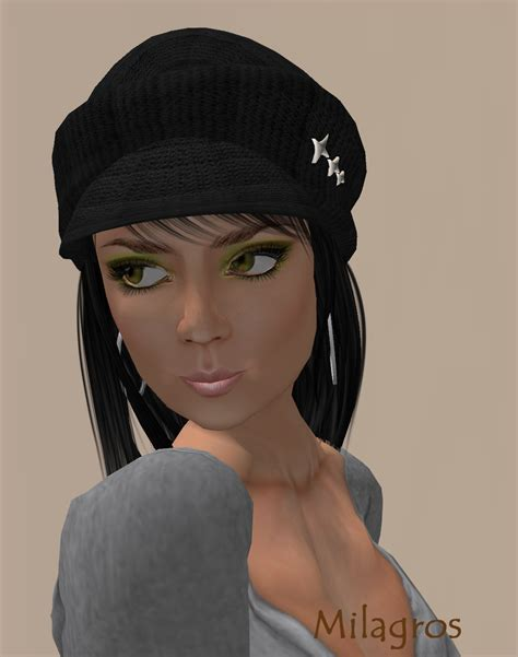 how to wear a beret with bangs a diary of my second life i m the mad hatter