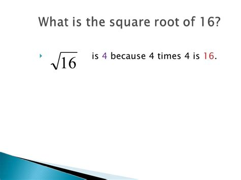 what is the square root of 1000 square roots and perfect squares