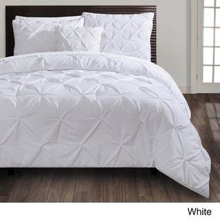 vcny carmen pintuck 4 piece comforter set by vcny