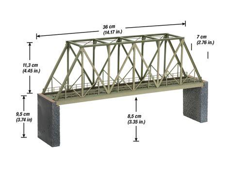 Laser Truss Layout | noch 67029 laser cut ho steel girder bridge 040 trains