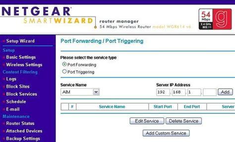forwarding external ip configure forwarding through a netgear router