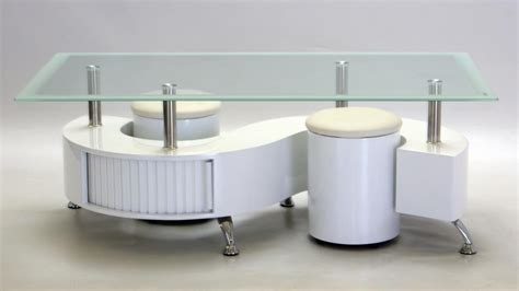 s shaped coffee table with stools s shaped glass white high gloss coffee table homegenies