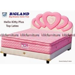 Ranjang Hello Bigland hello anak furniture lemari ranjang springbed meja belajar klikfurniture
