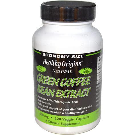 Green Coffee Bean Extract healthy origins green coffee bean extract 400 mg 120