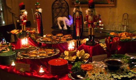 christmas catering caterer