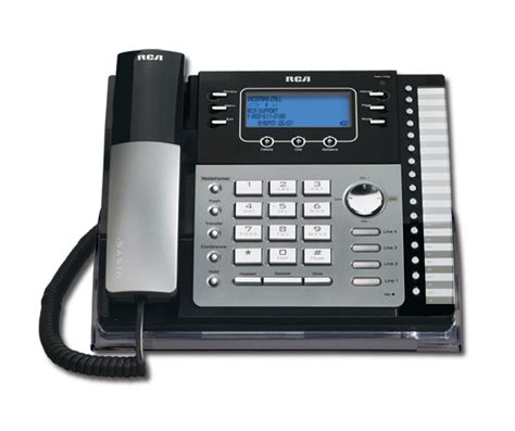 Help Desk Phone System by Rca Visys 25424re1 4 Line Expandable System Phone With Call Waiting Caller Id