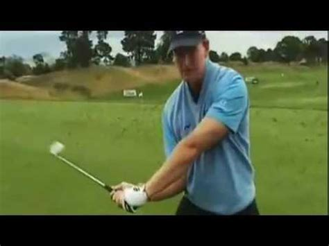 ernie els swing swing tip from ernie els youtube