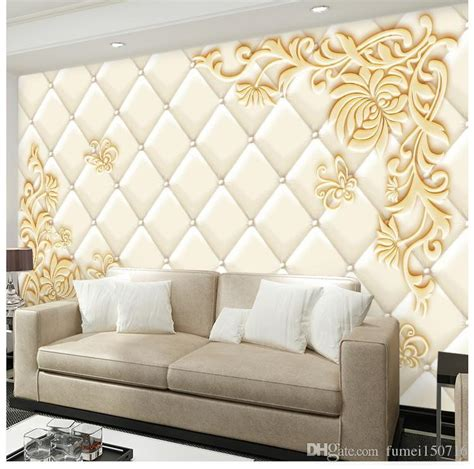 tv background video wall wallpaper  stereo relief mural
