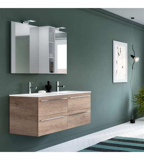 mobile bagno lavabo doppio mobile bagno sospeso hafro geromin change 48 cm 120 doppio
