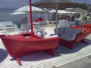 Sofa Boat Shore Thang Pinterest