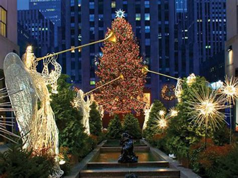 Rockefeller Tree Lighting Guide In New York City Lighting Of Tree Nyc 2014