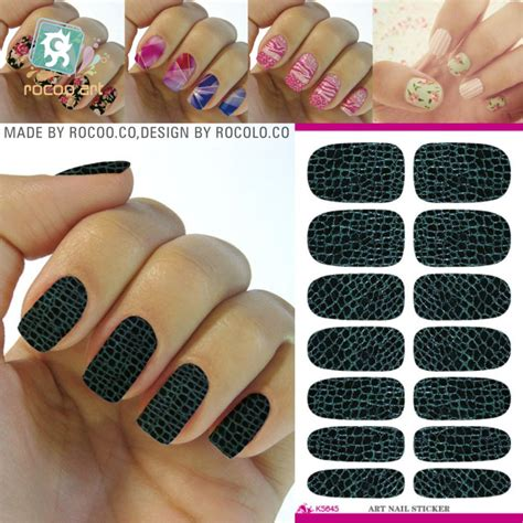 Nail Sticker Sticker Kuku 45 new arrive nail stickers design water transfer nail sticker manicure decorations