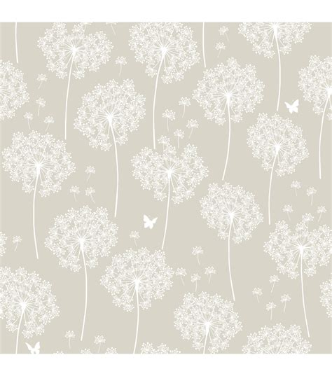 where to buy peel and stick wallpaper wallpops 174 nuwallpaper dandelion taupe peel and stick