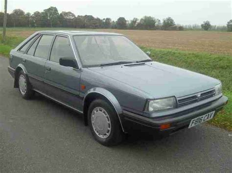 nissan blue car nissan 1989 bluebird ls blue car for sale