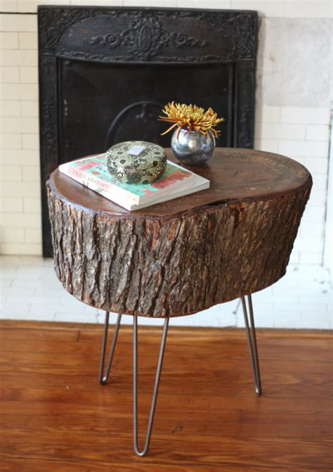 tables made from tree stumps how to diy stump table 17 apart