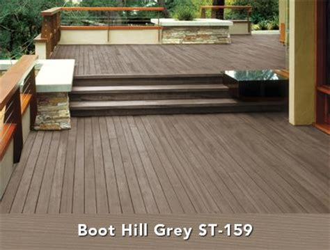 boot colors behr semi transparent wood stain in boot hill grey deck