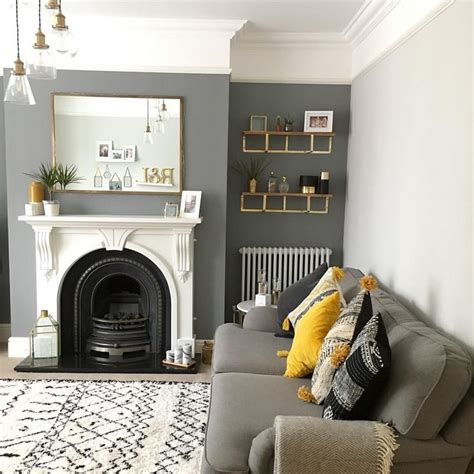 Livingroom Paint Ideas by Best 25 Grey Walls Living Room Ideas On Grey