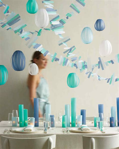 How To Make Paper Decorations For Baby Shower - our best baby shower decorations martha stewart