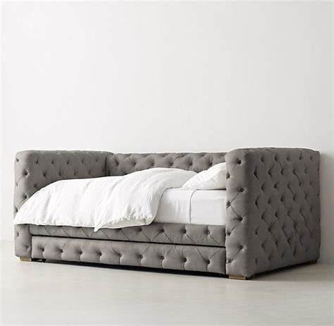 tufted day bed tribeca beige tufted daybed with trundle