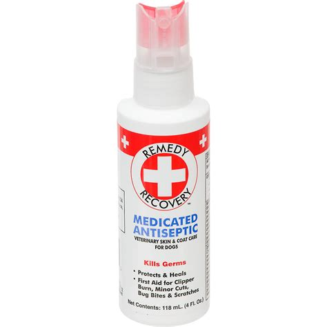 antiseptic for dogs remedy recovery medicated antiseptic spray for dogs petco