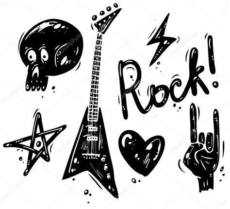 imagenes simbolos de musica s 237 mbolos de m 250 sica rock vetor de stock 169 yellowpixel